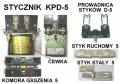 Stycznik KPD-5 40V 100A  EV-687/EP-006/011/ES-301/ET-506/508