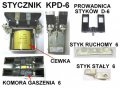 Stycznik KPD 6 40V EV-717/735/818/ET-512